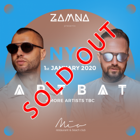 Zamna presents ARTBAT- SOLD OUT