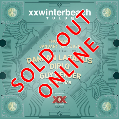 XXWinterbeach 2 Enero-- SALE AVAILABLE IN THE EVENT