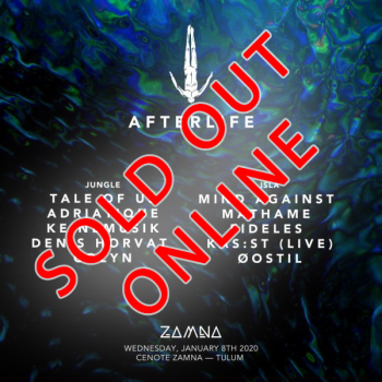 Afterlife - Tickets available at the Event itself