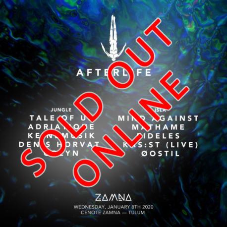 Afterlife - Boletos disponibles en el propio Evento